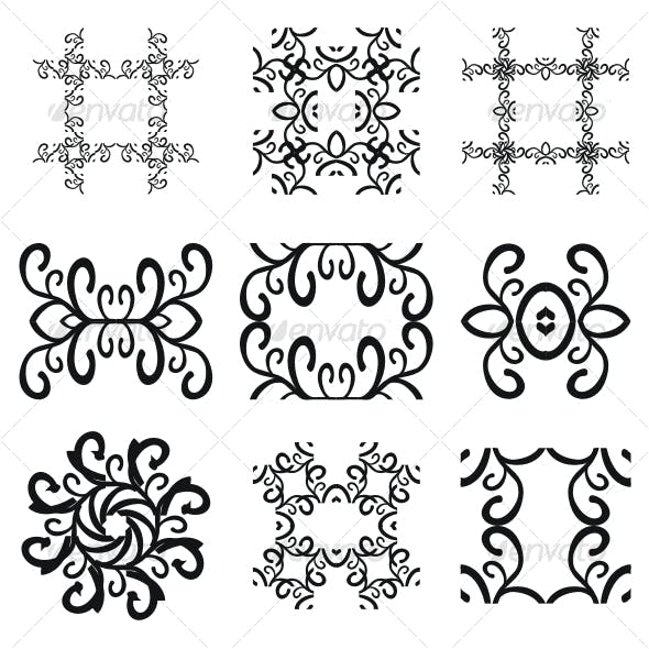 Vector pattern decorations