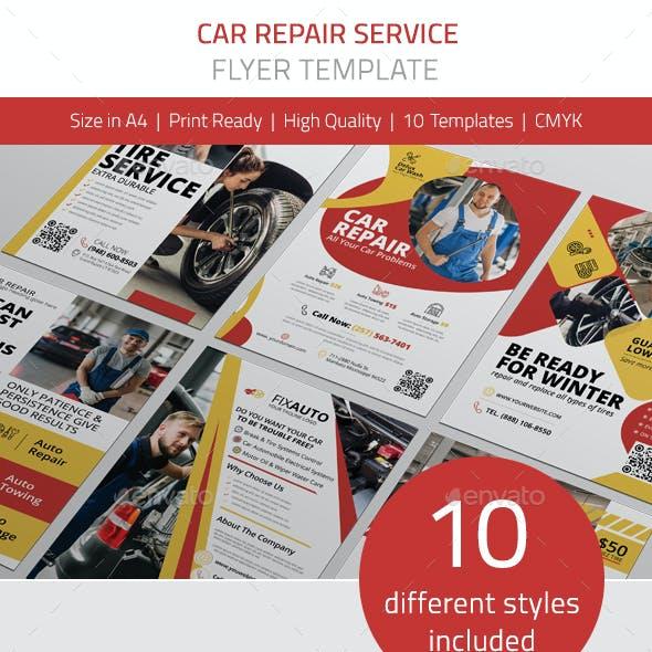 Car Repair Service Flyer Vol.1