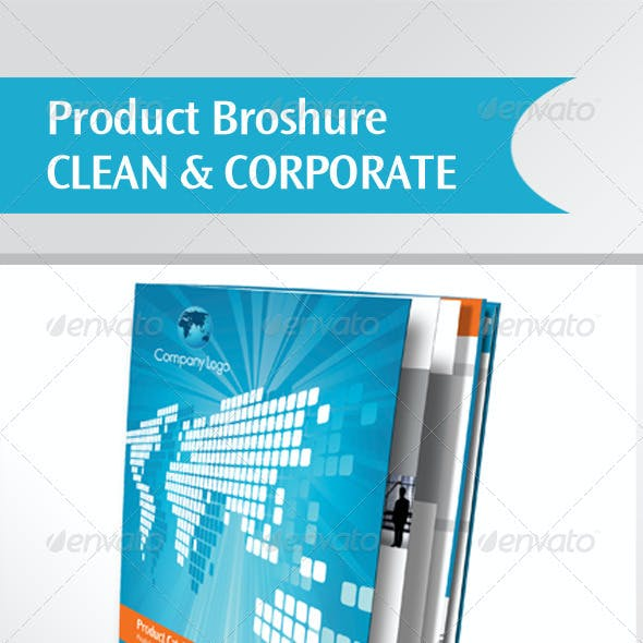 Clean & Corporate Product Brochure