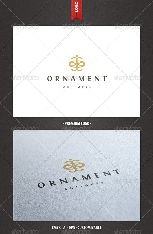 Ornament - Abstract and Crest Logo Template