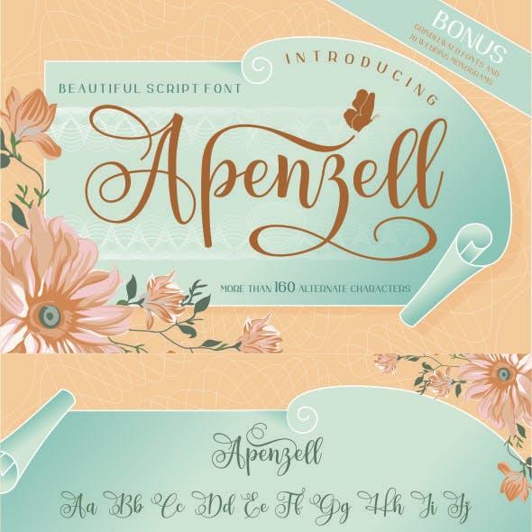 Apenzell Script | 2 font