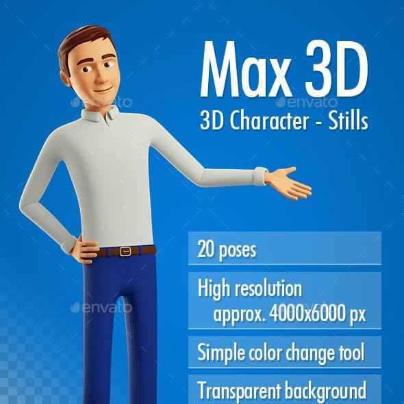 Max 3D Character - Stills