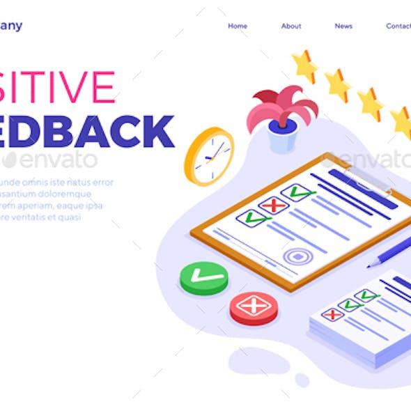 Feedback or Survey Questionnaire Form