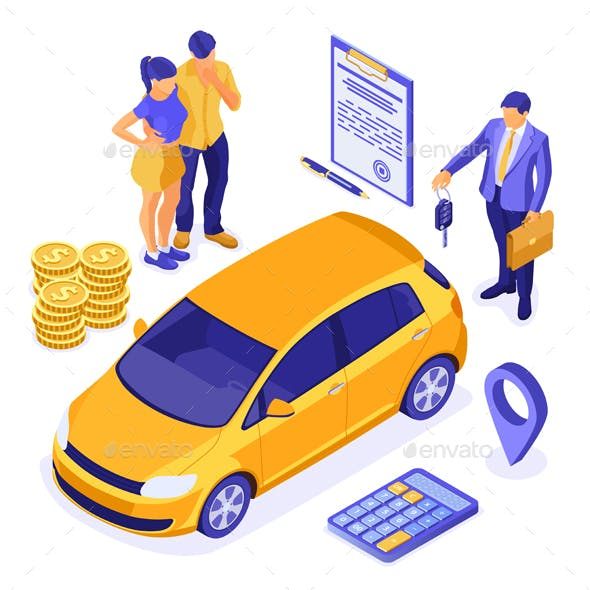 Sale, Insurance or Rental Car
