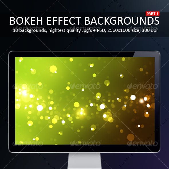Bokeh Effect Backgrounds Part 1