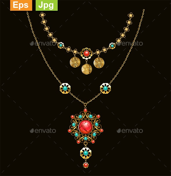 Ethnic Pendant - Man-made Objects Objects