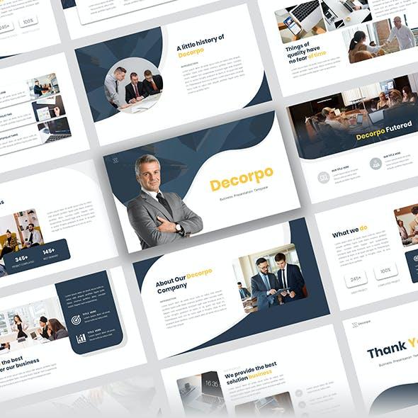 Decorpo - Company Business Presentation Template