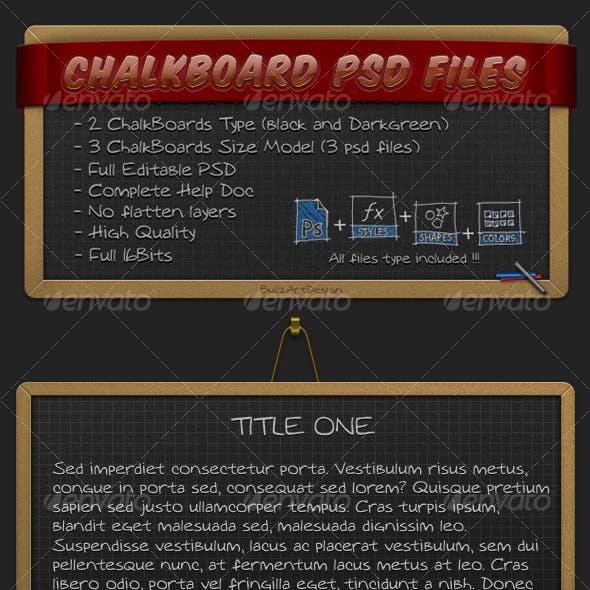 iBullz ChalkBoard PSD