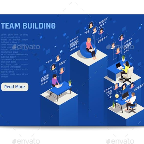 Team Building Online Background