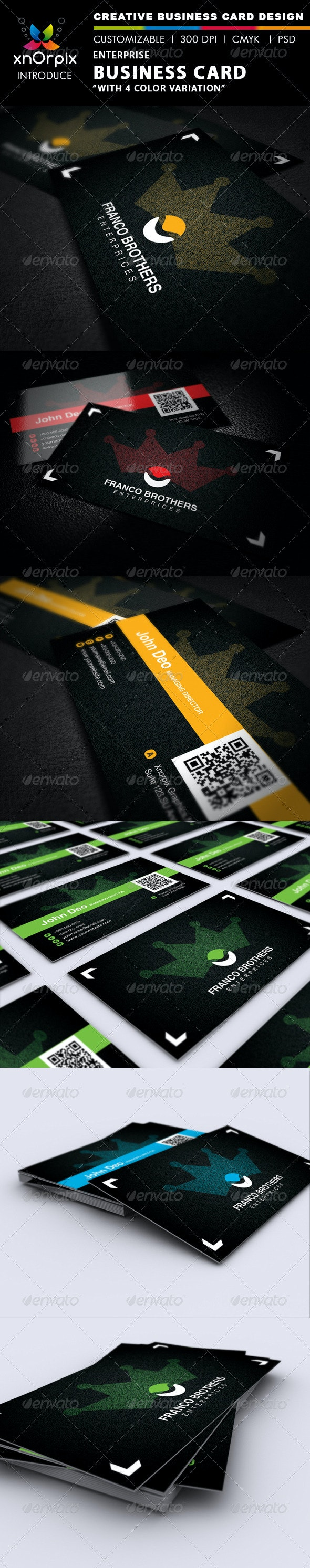 Enterprise Business Card - Corporate Business Cards