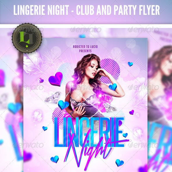 Ladies Night Party - Club Flyer Template
