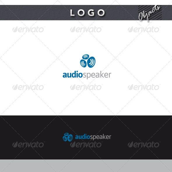 Audio Speaker Logo