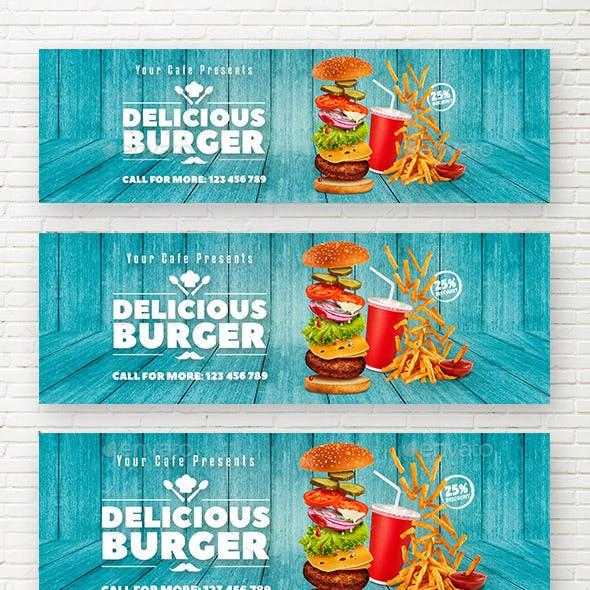 Delicious Burger Web Sliders