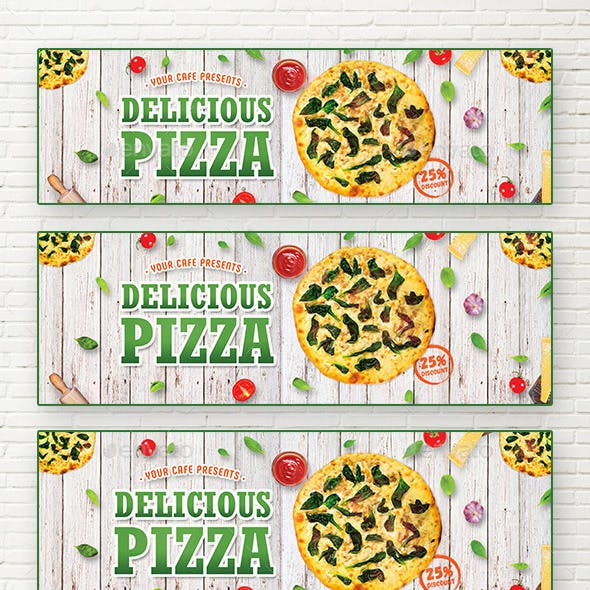 Delicious Pizza Web Sliders