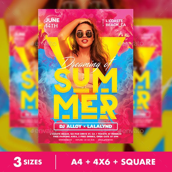 Summer Flyer Party