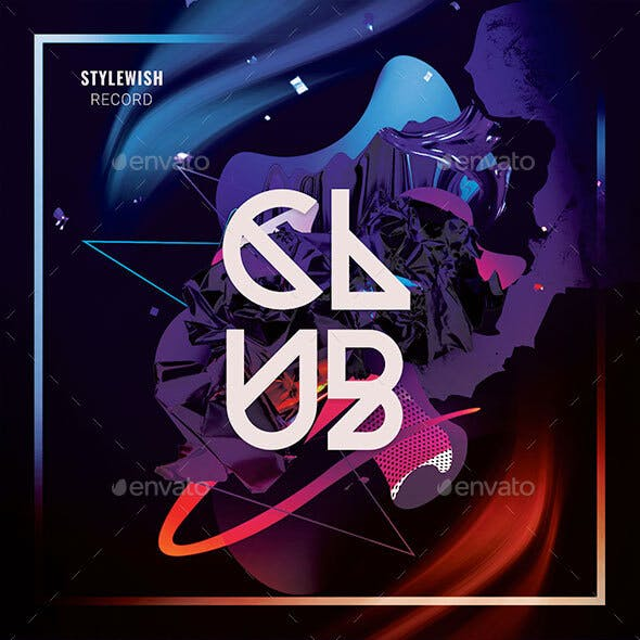 Club CD Cover Artwork