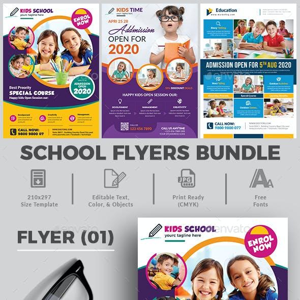 School Flyers Bundle Templates