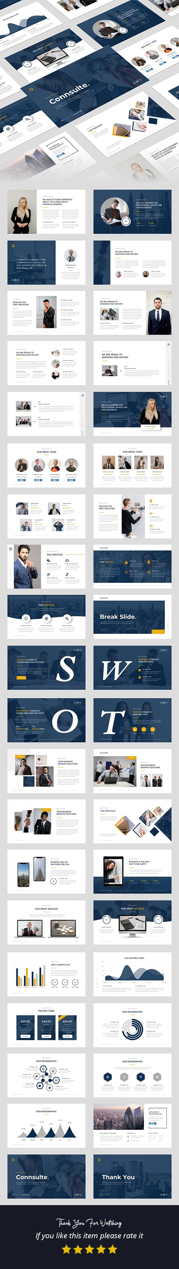 Consulte - Consulting & Finance PowerPoint Template