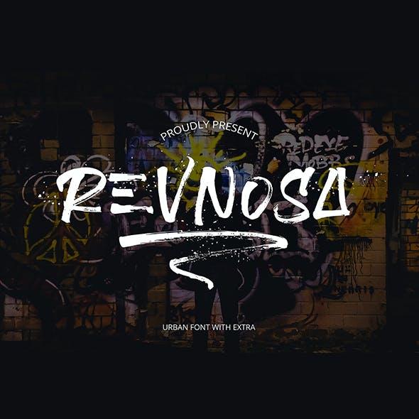 Revnosa Urban Brush Font