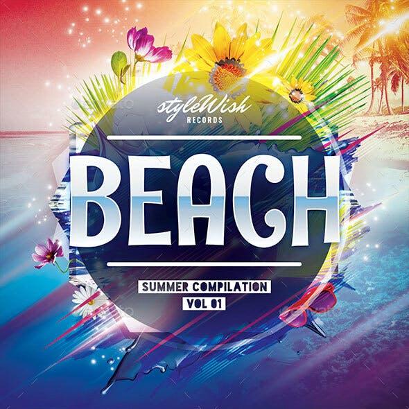 Beach CD Cover Artwork