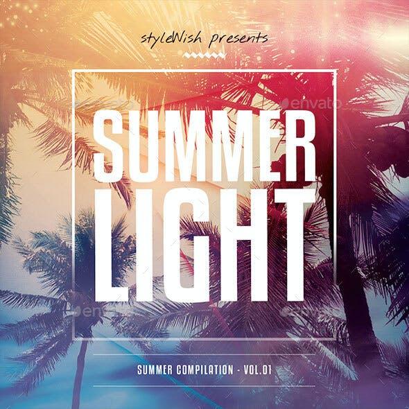 Summer Light CD Cover Artwork