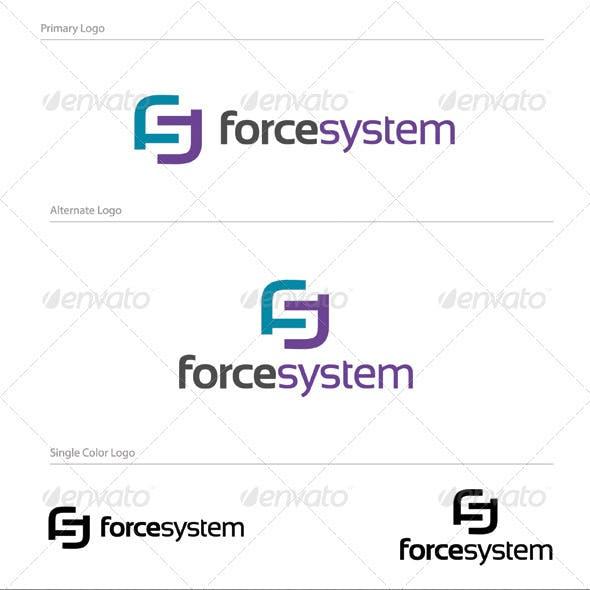 Force System Logo Design - LET-033