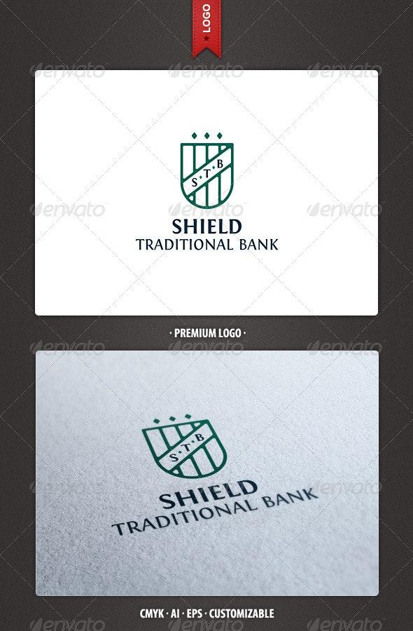 STB - Shield Logo Template