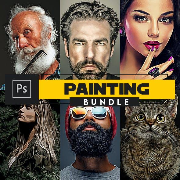 Painting Bundle -  Photoshop Actions