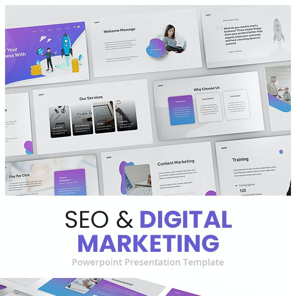 SEO & Digital Marketing Powerpoint