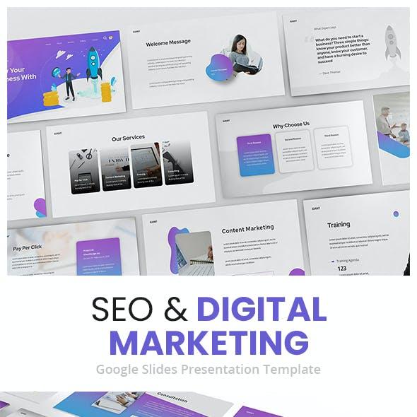SEO & Digital Marketing Google Slides