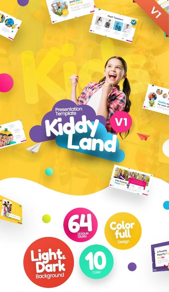 Kiddyland Fun Education PowerPoint Presentation Template - PowerPoint Templates Presentation Templates