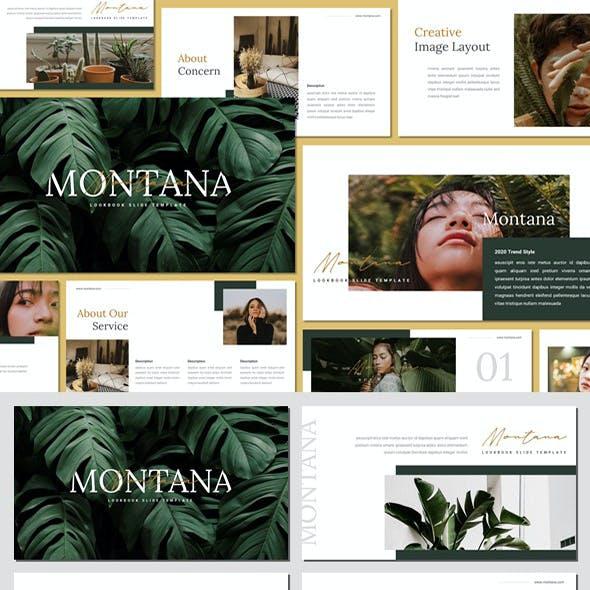Montana - Minimalist Keynote Template