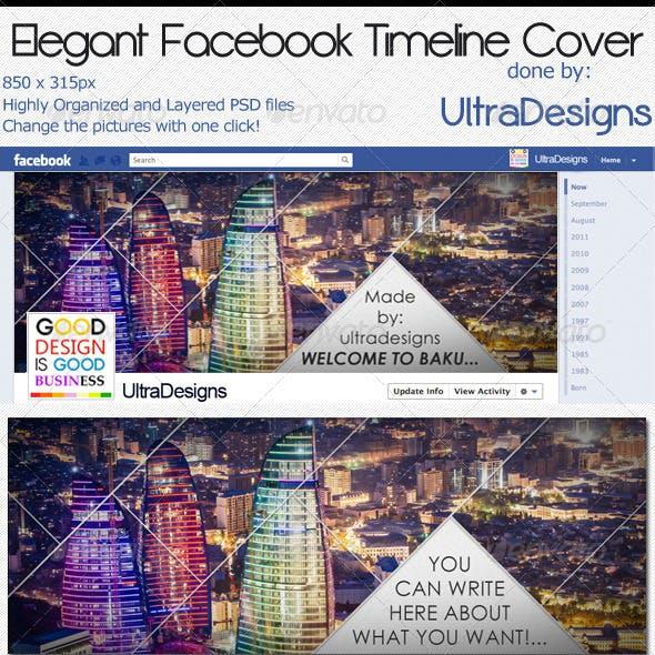 Elegant Facebook Timeline Cover