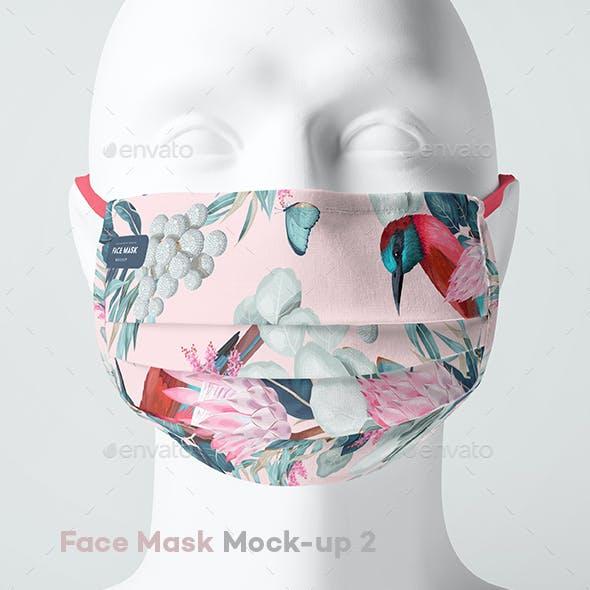 Face Mask Mock-up 2