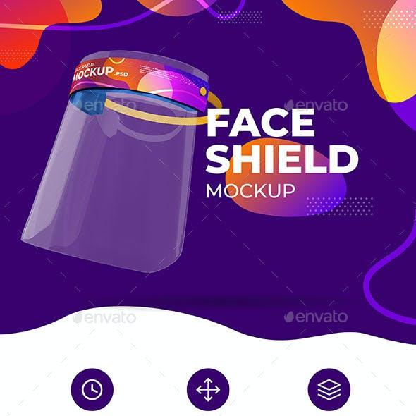 Face Shield Mockup