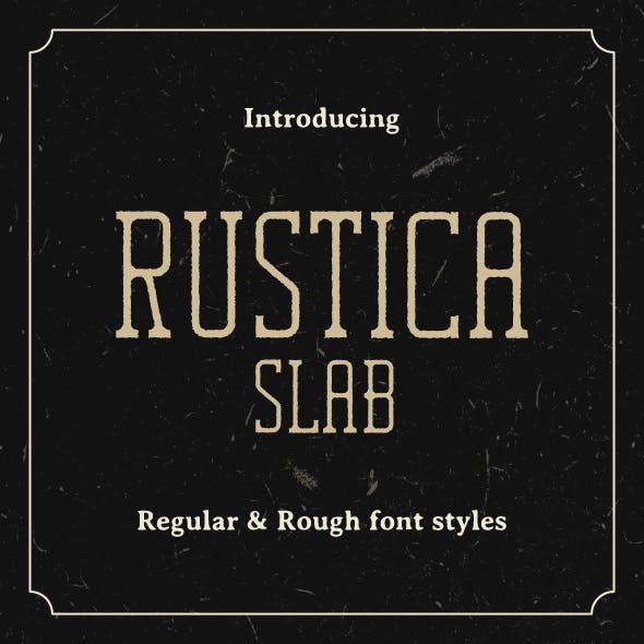 Rustica Slab Font