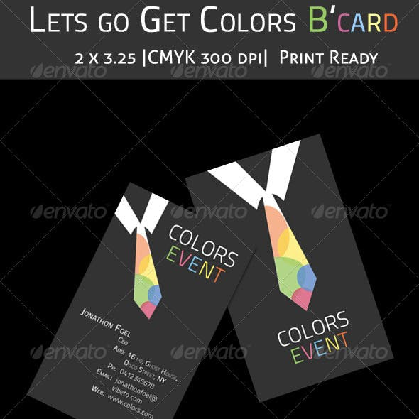 Colors B'card