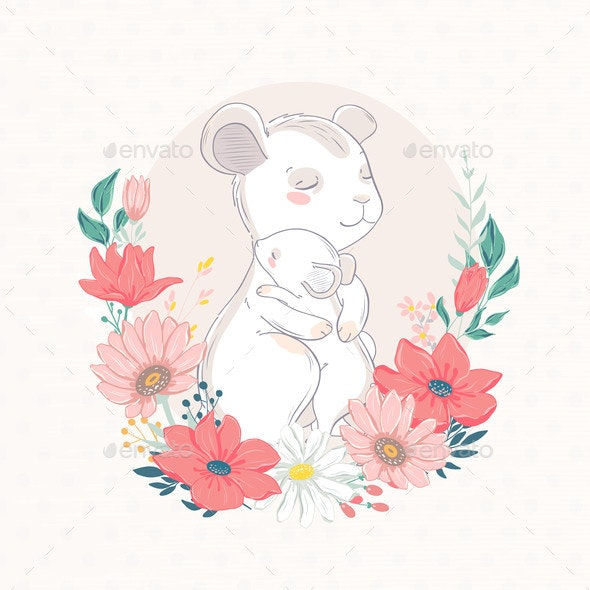 Animal Family Character. - Animals Characters