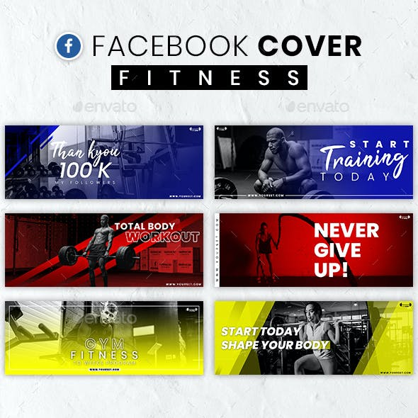 Facebook Cover Fitness