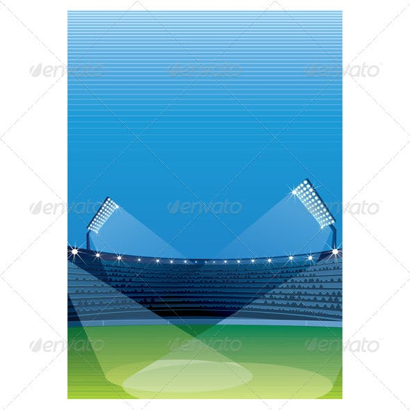 Stadium Vector Background