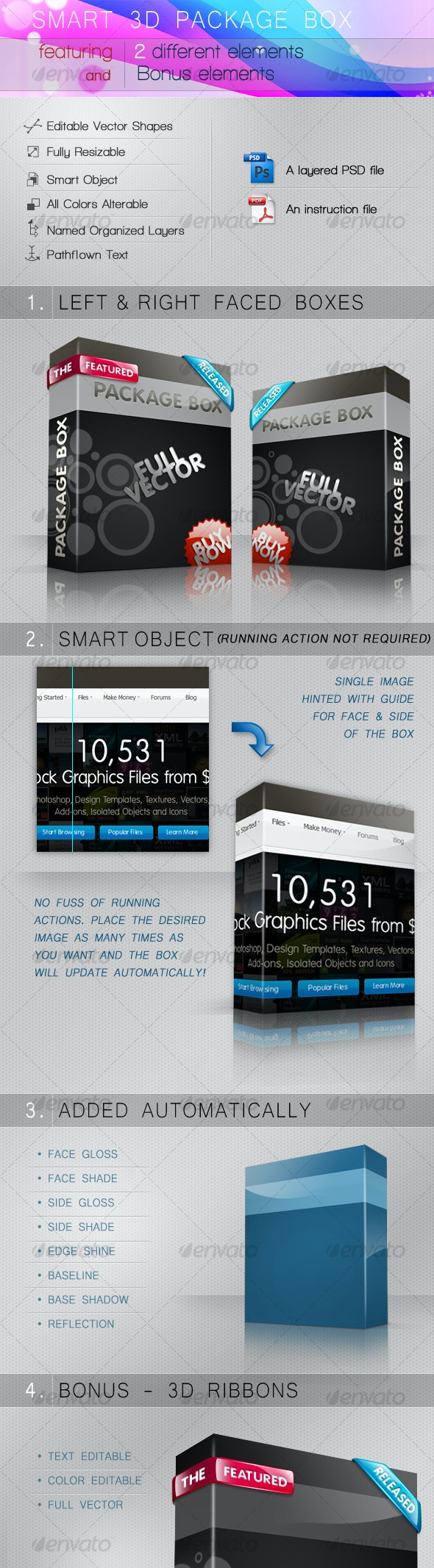 Smart 3D package box - Miscellaneous Packaging