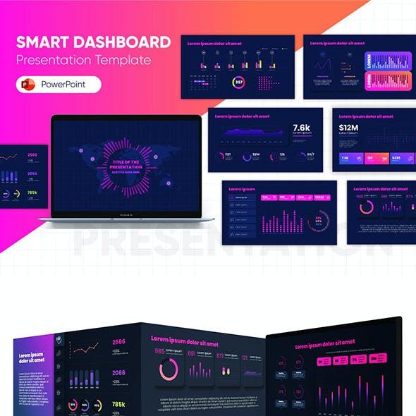 Smart Dashboard PowerPoint Template