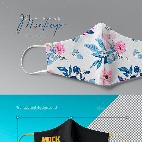 Face Mask Mockup v3