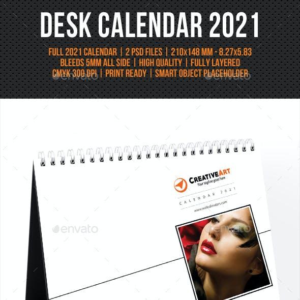 Creative Desk Calendar 2021 V17