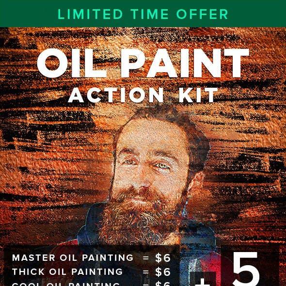 Oil Paint Action Kit