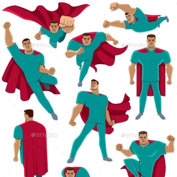 Healthcare Worker Superhero