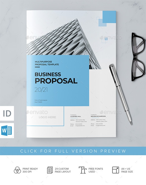 Docx Proposal 24 Pages - Corporate Brochures