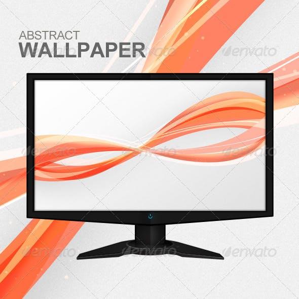 Abstract Twist Wallpaper