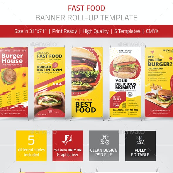 Fast Food Banner Vol.1