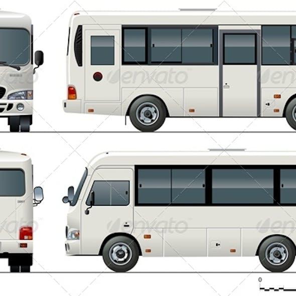 Vector small Bus